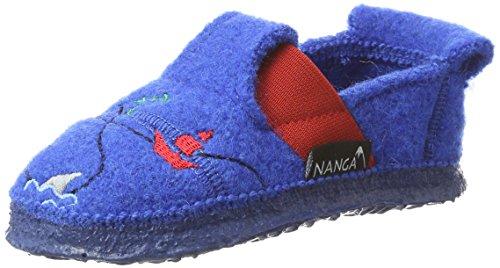 Nanga Jungen Pirate Hausschuhe, Blau (Mittelblau), 26 (Outfits Jungen Für Piraten)
