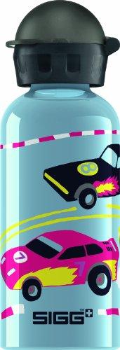 Sigg Trinkflasche Cars, Grau, 0.4 Liter, 8424.50 (Kinder-trinkflasche Cars)