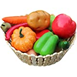 Voberry 12 Pcs High Imitation Vegetable Packages Photographic Props Show as The Picture