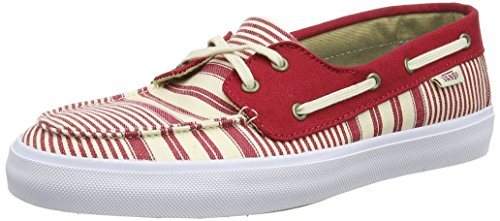 Vans Damen Chauffette Sf Sneaker Rot (multi Stripe/chili Pepper)