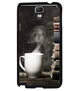 Snapdilla Designer Back Case Cover for Samsung Galaxy Note 3 Neo :: Samsung Galaxy Note 3 Neo Duos :: Samsung Galaxy Note 3 Neo 3G N750 :: Samsung Galaxy Note 3 Neo Lte+ N7505 :: Samsung Galaxy Note 3 Neo Dual Sim N7502 (Food Tasty Refreshment Breakfast Read Paper Article)