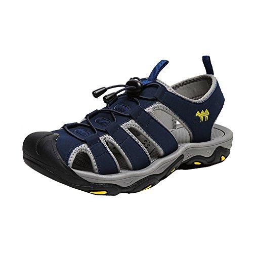 Strand Herren H Blau Outdoor Schuhe Schnelltrocknend Wandern Sandalen amp;W SqCY5WCwR
