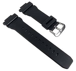 Casio Bracelet de Montre Resin Band noir pour GW-7900 GW-7900B
