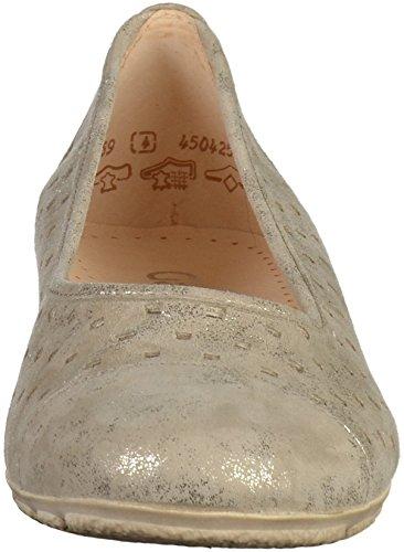 Gabor 44.169 Damen Ballerinas Beige