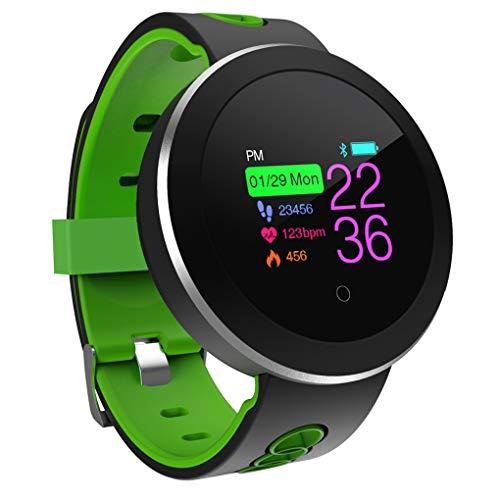 Pandiki Q8pro Sport Smart-Armband Herzfrequenz-Blutdruck-Wasserdichtes Fitness Tracker Armbanduhr Sport-Pedometer-Uhr