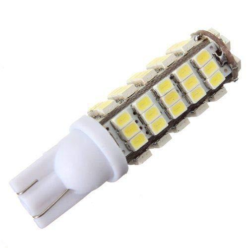 LAMPE AMPOULE PHARE 68 LED T10 W5W SMD BLANC XENON DC 12V VOITURE FEUX TABLEAU DE BORD INDICATEUR Z3D9