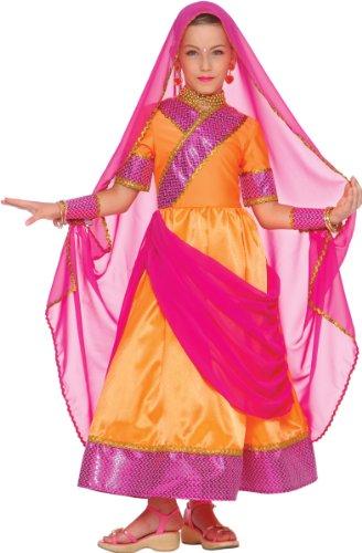 Generique - Bollywood Prinzessin Kostüm für Mädchen 146 (8-10 Jahre) (Mädchen Bollywood Prinzessin Kostüme)