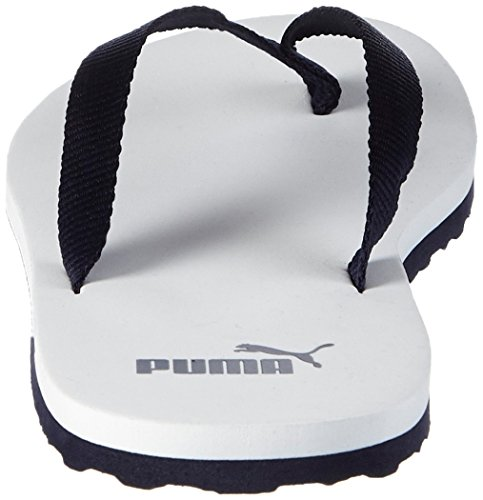 Puma Sun Flip Unisex-Erwachsene Zehentrenner Weiß (white-peacoat 01)