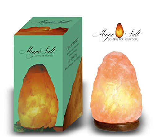 Lámpara de Sal del Himalaya - MAGIC SALT ® Lighting For Your Soul - (HASTA 2 KG.)