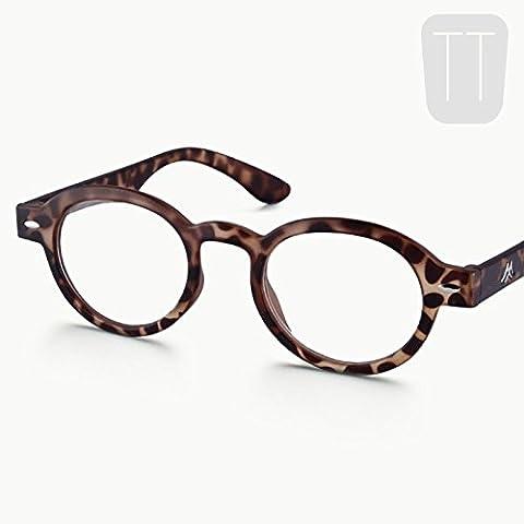 Tartaruga Nuovo Funky Retro Rotondo con occhiali da lettura Aviator Occhiali Frame per uomini e donne occhiali da sole vendita + 2.0