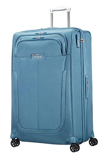 SAMSONITE Duosphere - Spinner 78/29 Expandable Koffer, 78 cm, 118 L, Niagara Blue