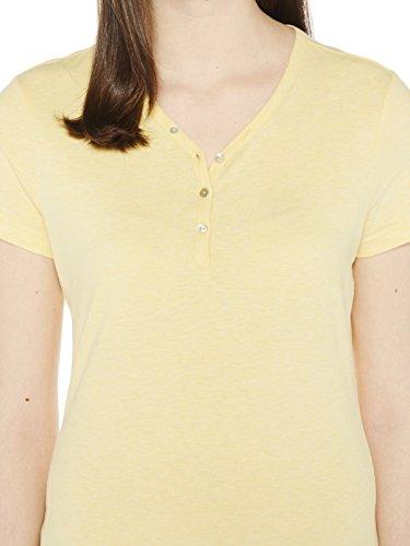 Colorado Denim Margeret, T-Shirt Femme Gelb (DAFFODIL Mel 2387)
