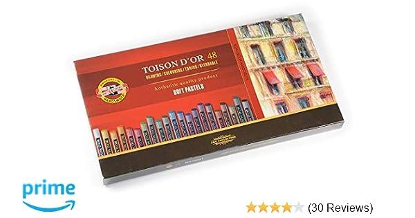 Pack of 12 Grey KOH-I-NOOR TOISON DOR 8522 Artists Soft Pastels