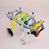 Dog Wheelchair All Wheel-Veterinarian Approved - Rollstuhl Für Samojede Und Chow-Chow -M