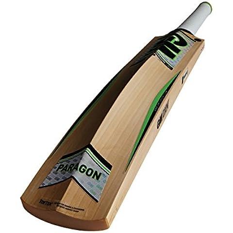 Gunn y Moore parangón F4,5 DXM 303 TT Inglés sauce bate de Cricket - verde, mango corto