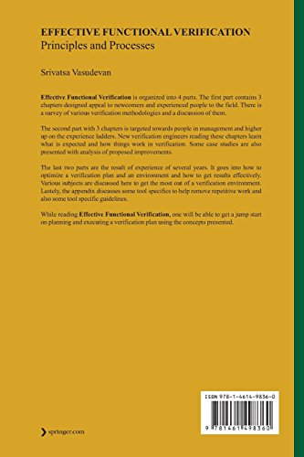 Effective Functional Verification: Principles and Processes