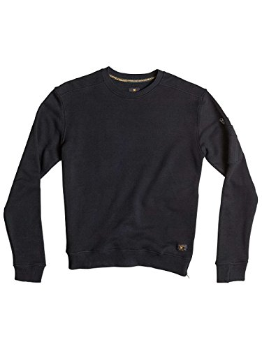 Herren Sweater DC Woodbrook Crew Sweater Black