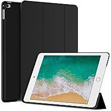 iPad Mini 4 Funda, JETech® Slim Fit Apple iPad Mini 4 Funda Carcasa con Stand Función y Auto-Sueño/Estela para Apple iPad Mini 4 Lanzado en 2015 Smart Case Cover (Negro)