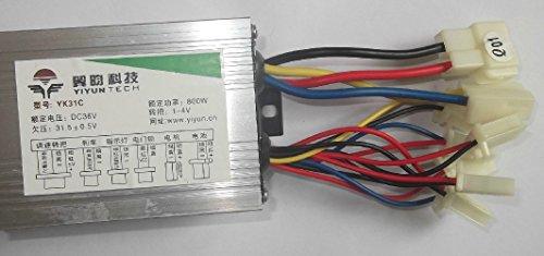 36V48V 800W Elektromotorcontroller Brushed DC-Motordrehzahlregelung für Elektro-Dreirad-Roller-Brushed-Controller (48V800W)
