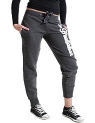 Brubaker NY Eagle pantalon de sport jogging bas survetement pour femme en 6 coleurs, tailles S-XL