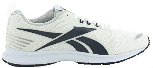 Reebok Bd5476, Sneakers trail-running homme Blanc Cassé (Bianco White/collegiate Navy/skull Grey)