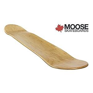 Blank Skateboard Deck natural 7.375