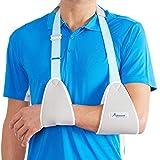 Actesso Web Armschlinge Schulterschlinge - zum Arms, Schulter und Handgelenk Verletzungen oder Frakturen (Mittelgroß)