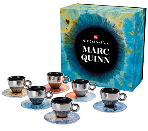 Marc Quinn ILLY Art Collection Kaffeeservice - 6 Cappuccinotassen + 6 Untertassen