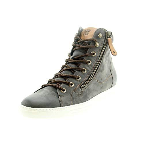 Paul Green Damen Sneaker 4675 4675-063, Grau, Gr. 7.5