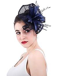 Vintage Europeo Novia Boda Sombreros De Las Mujeres Bowler Hat Cóctel  Banquete Accesorios para El Cabello 6767998ae4b