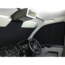 Protector térmico para Furgoneta VW T5 Transporter, estor para ventana, color plateado