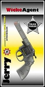 Max Bersinger 802-05-602 Pistola de Juguete Arma de Juguete - Armas de Juguete (Pistola de Juguete, Niño, Gris, De plástico, Tailandia, 20 cm)