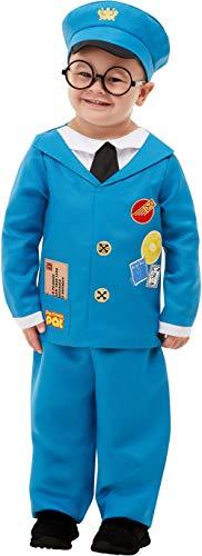 chen Postman Pat TV Cartoon Show Weltbuch Tag Woche Kindergarten Karneval Kostüm Outfit ()