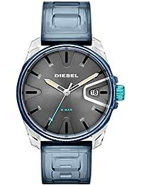 9bf540607a1c Diesel Reloj Analógico para Hombre de Cuarzo con Correa en PU DZ1868