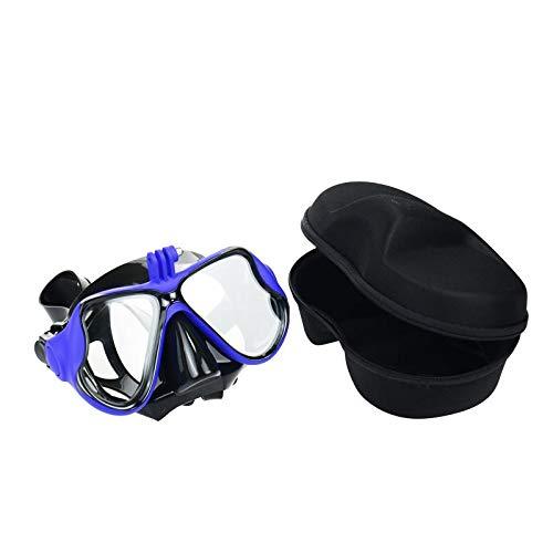 TELESIN Silikon Tauchglas mit Abnehmbarer Schraubmontage Tauchmaske Tauchen Schnorchel Schwimmbrille...
