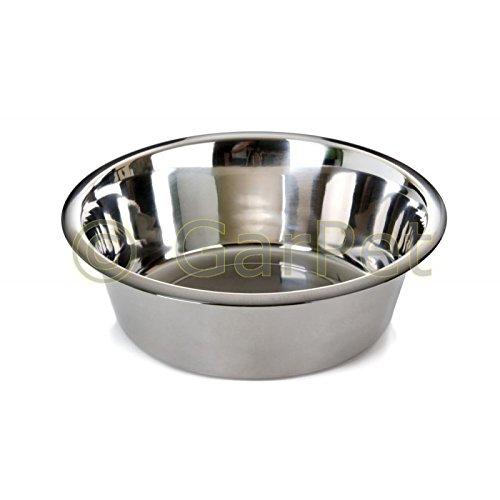 JK Standard Edelstahl Futternapf Wassernapf Hunde Katzen Napf (2.2l)