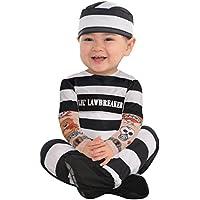 Christys Dress Up Lil' Law Breaker Infants Fancy Dress Costume - Lil'Law Breaker -UK- 12-24 Months by Amscan
