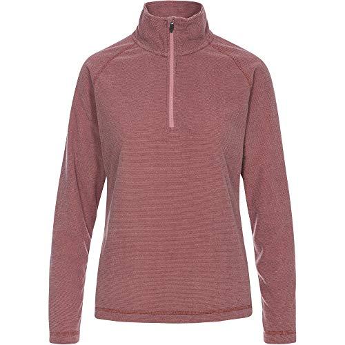 Trespass Womens Meadows AT100 Half Zip Microfleece Jacket Womens Half Jacket