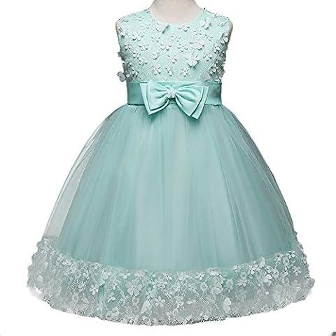 Mädchen Kleider Hochzeit Chiffon Brautjungfer Festliches Festzug Party Cocktailkleider Prinzessin Märchen Dress