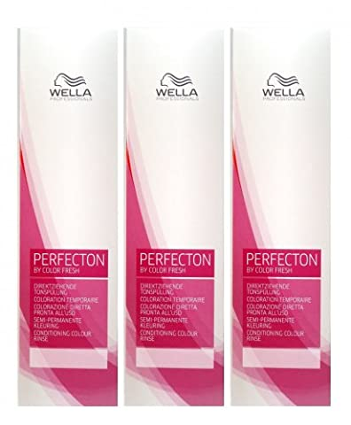 Wella Perfecton /6 violett 3 x 250 ml Tonspülung by Color Fresch Professionals