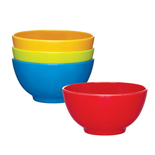 Price comparison product image Miniamo Bright Bowls, Assorted Colours 4 per pack