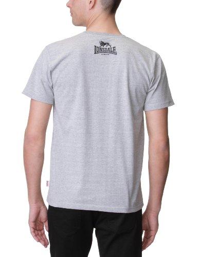 Lonsdale Herren Sport Shorts T-Shirt Promo Grau