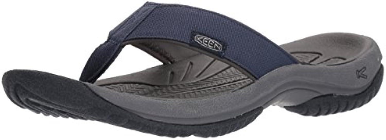 KEEN Men's Kona Flip M Flat Sandal  Dress Blues/Steel Grey  7.5 M US