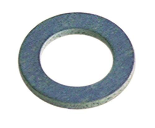 Flachdichtung für Gewinde M10 Aussen ø 19mm Innen ø 10,5mm Materialstärke 1,5mm Fiber