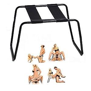 Multifunktions-Sex-Stuhl, Schwerelos Abnehmbarer Elastischer Sex-Schemel - Sexuelle Positions-Unterstützung - Justierbarer Bondagesessel Für Badezimmer-Wohnzimmer-Schlafzimmer