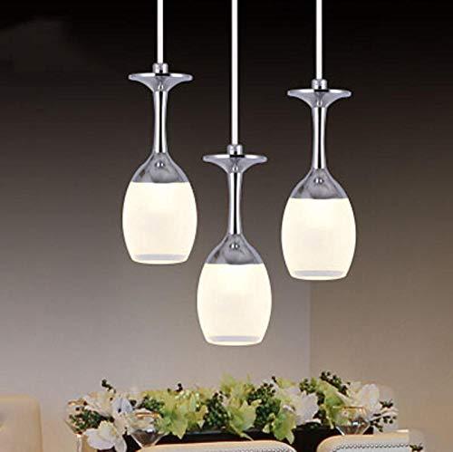 Pop Art Acryl Kreative 5 watt LED Kronleuchter Zubehör Einfache Wohnkultur Wohnzimmer Verchromte Aluminium Tasse Kronleuchter Beleuchtung -