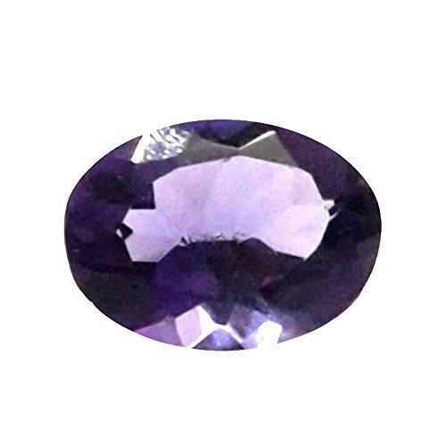Astro Gemsstone Jamunia Gemstone Original Certified Amethyst Stone 10.55 Carat Lab Certified Loose Gemstone