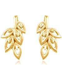 Carats for you 22KT Yellow Gold Stud Earrings for Women