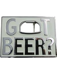 Retro Belt Buckle - Got Beer ?