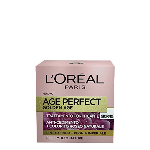 L'Oréal Paris Age Perfect Pro-Calcium Crema Viso Fortificante, Giorno, 50 ml